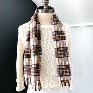 Pendleton Pure Virgin Wool Plaid Scarf - Unisex